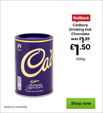 Cadbury Drinking Hot Chocolate