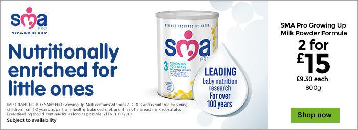 sma pro toddler milk powder formula