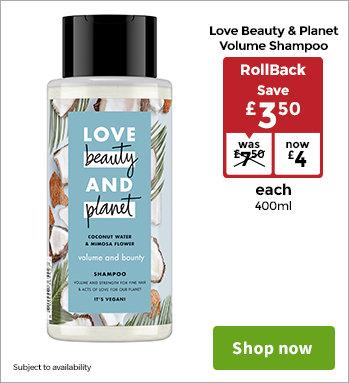 Shampoo & Conditioner - ASDA Groceries
