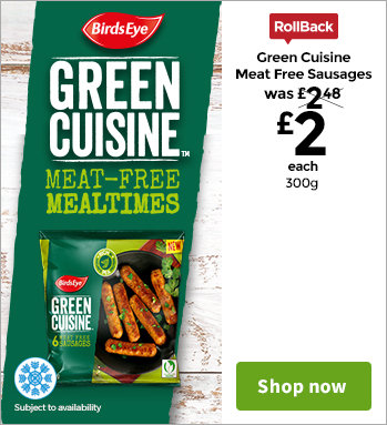 Vegetarian & Free From - ASDA Groceries