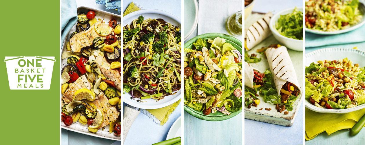 DIY burritos, speedy salads and sizzling stir fry