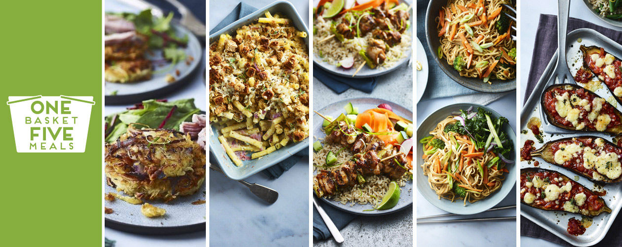Slow-cooked Gammon, creamy mac 'n' cheese and peanut noodles