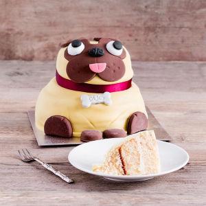 Pabs the Pug Celebration Cake