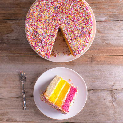 Swell Asda Rainbow Jazzie Celebration Cake Asda Groceries Personalised Birthday Cards Vishlily Jamesorg