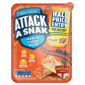 Attack a snak ham n cheese wrap kit with mexican mayo asda groceries solutioingenieria Gallery