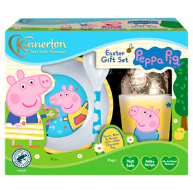 Peppa pig easter egg gift set asda groceries negle Image collections