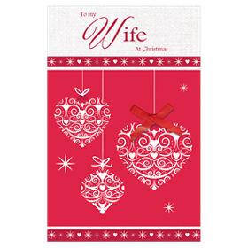 Greeting card wife christmas card asda groceries m4hsunfo