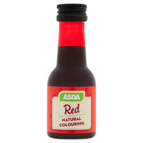 ASDA Red Natural Food Colouring - ASDA Groceries
