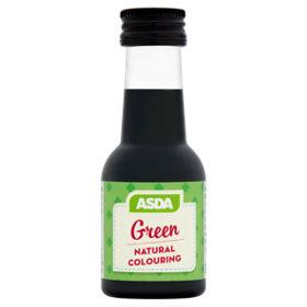 ASDA Green Natural Food Colouring - ASDA Groceries