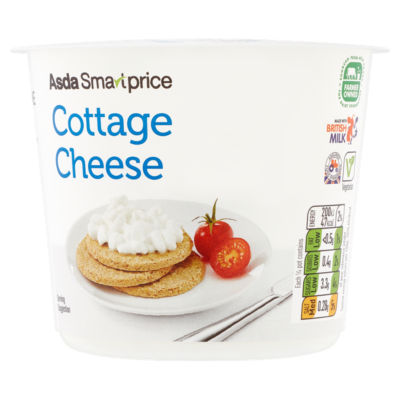 asda smart price cottage cheese asda groceries