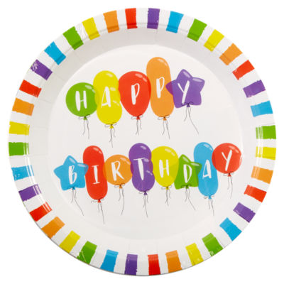 sc 1 st  ASDA Groceries & George Home Happy Birthday Paper Plates - ASDA Groceries