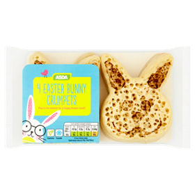 Asda bakers selection easter bunny crumpets asda groceries negle Image collections
