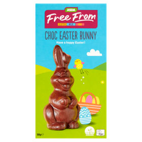 Asda free from choc easter bunny asda groceries negle Image collections