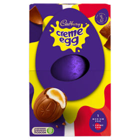 Cadbury creme egg medium easter egg asda groceries negle Choice Image