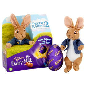 Cadbury dairy milk peter rabbit toy easter egg asda groceries negle Image collections