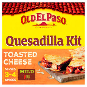 Old el paso mexican toasted cheese quesadilla kit asda groceries solutioingenieria Gallery