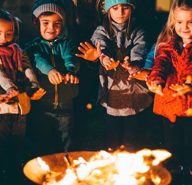 How to create a magical outdoor garden for Bonfire Night