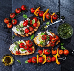Get your cook on with our top mozzarella recipes