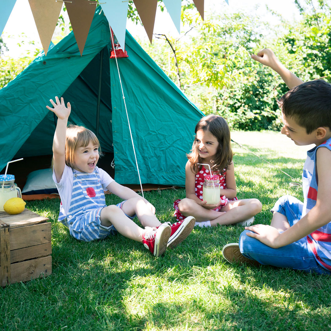 How to have a camping holiday at home