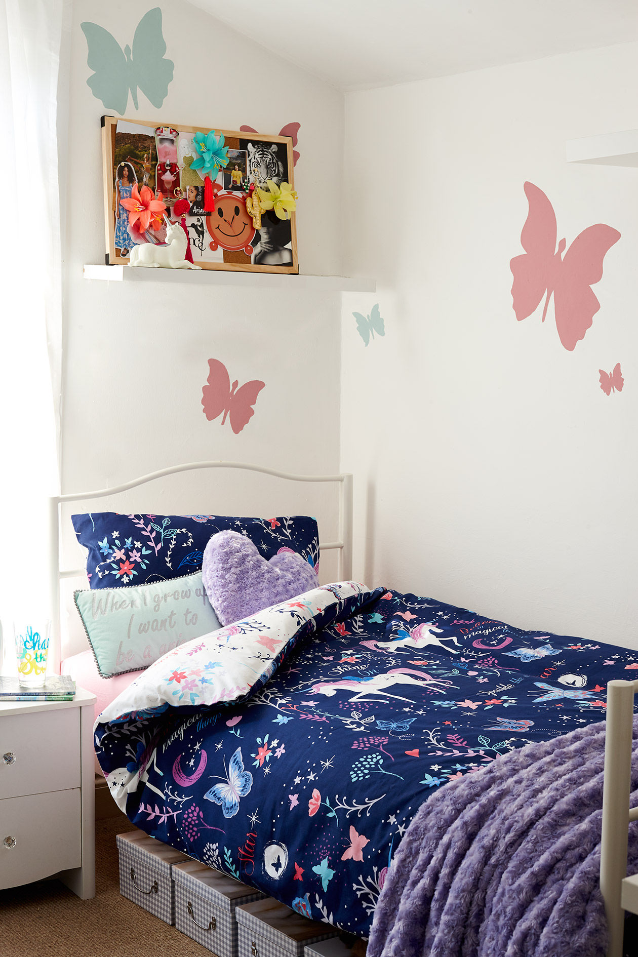 8 easy ways to transform your child's bedroom