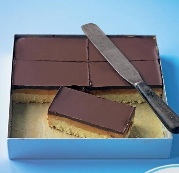 How to nail the ultimate caramel shortbread