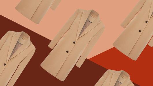 3 ways to wear a camel long-line coat