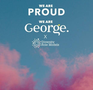 George partners with Diversity Role Models for Pride
