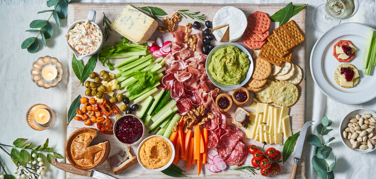 Grazing boards are the ultimate festive party sharer