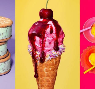 Beat the heat with these fruity frozen yogurts and sorbets