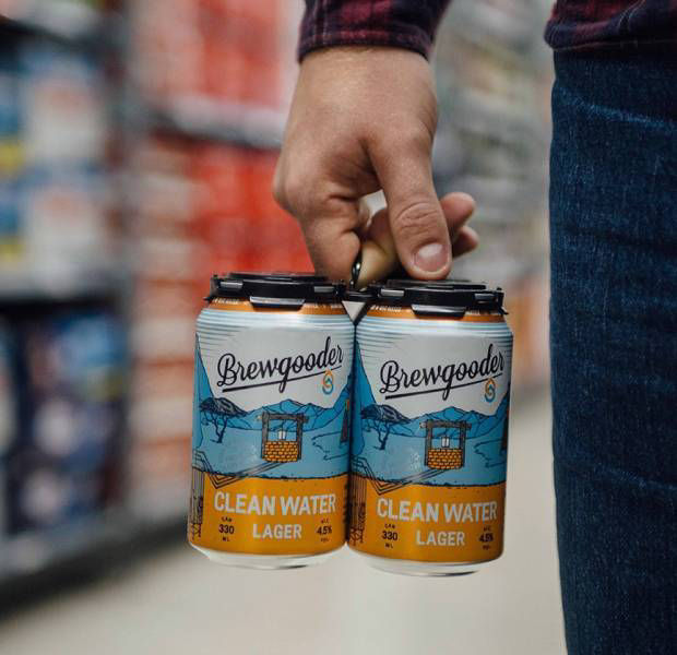 Turning beer into water: Asda supports craft beer company donating all its profits to clean water charities