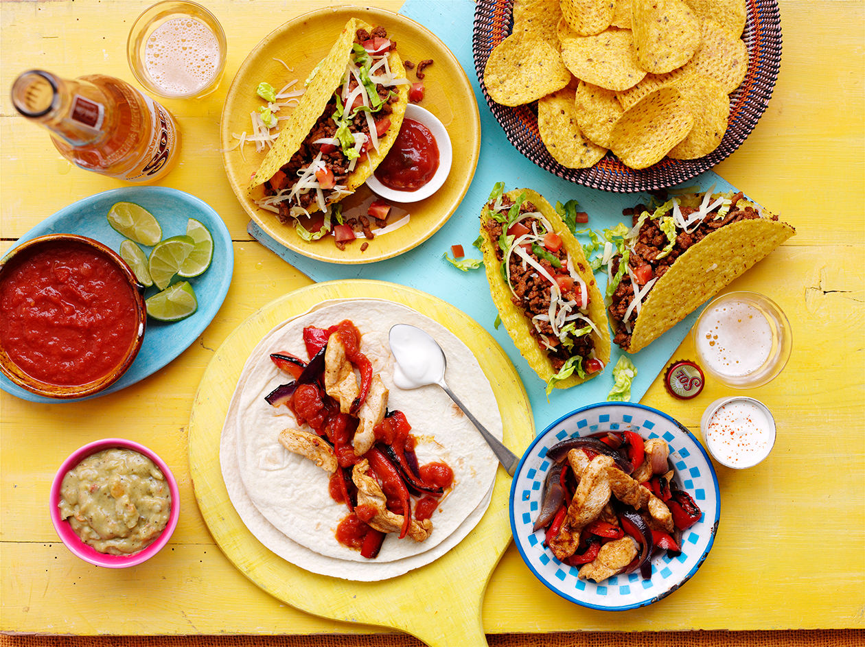 Mexican picnic: Mix things up with a flavour fiesta