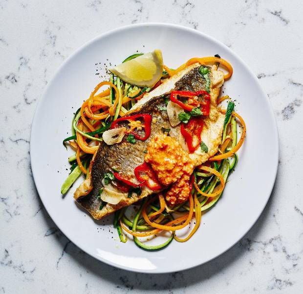 Get your cook on with sea bass