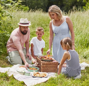Host a picnic in the park all for £15
