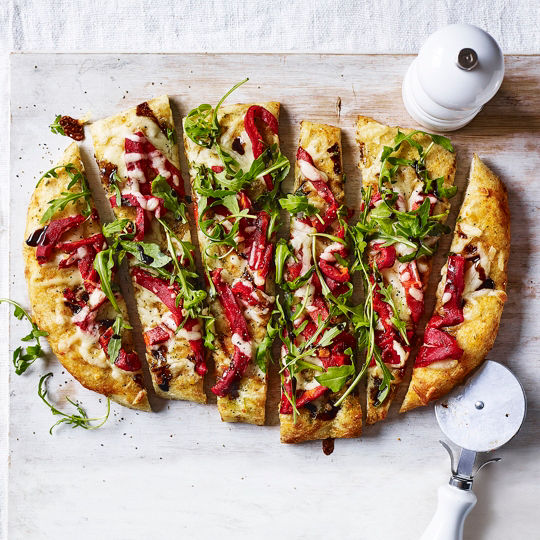 6 pizzas with a modern-day twist
