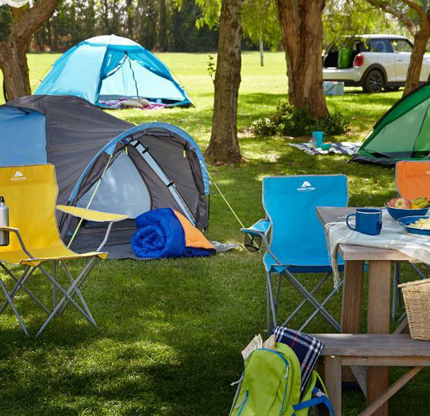 Everything you need for a family camping holiday