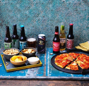 Everything you need for a night in watching the football